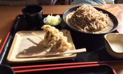 そばwith舞茸の天ぷら